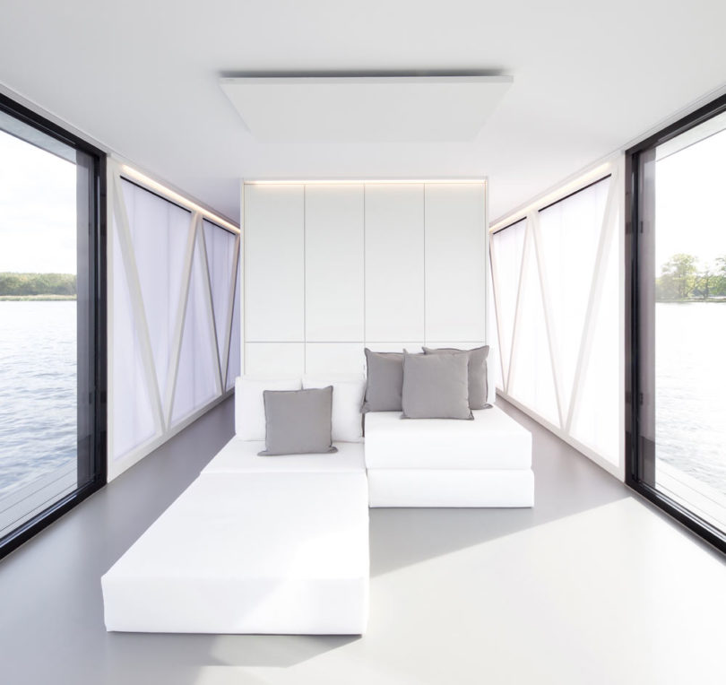 loungeboat: An Architect Couple Designs an Apartment on the Water Best Children's Lighting & Home Decor Online Store