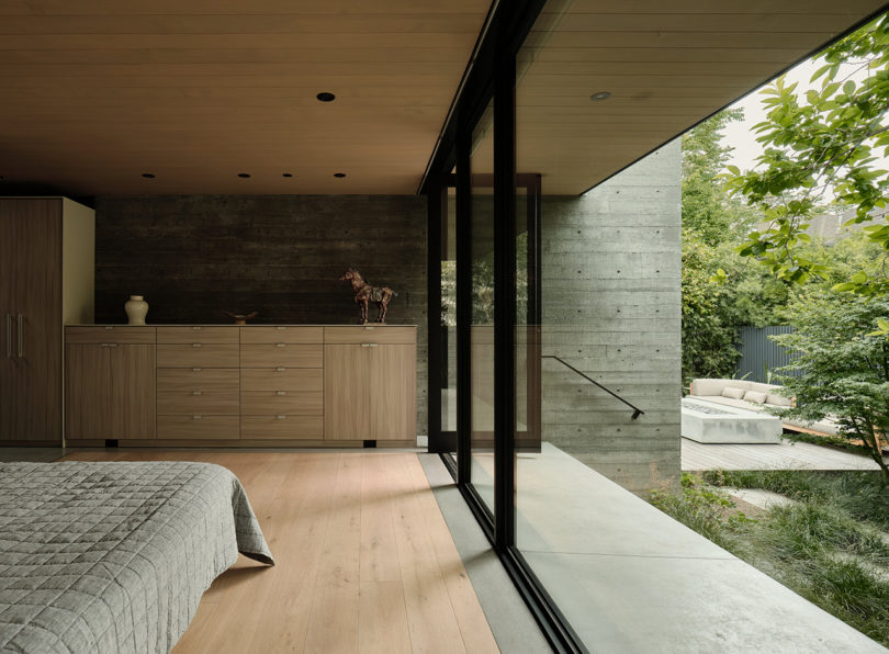 The Sanctuary House Floats Above Ground To Preserve Trees