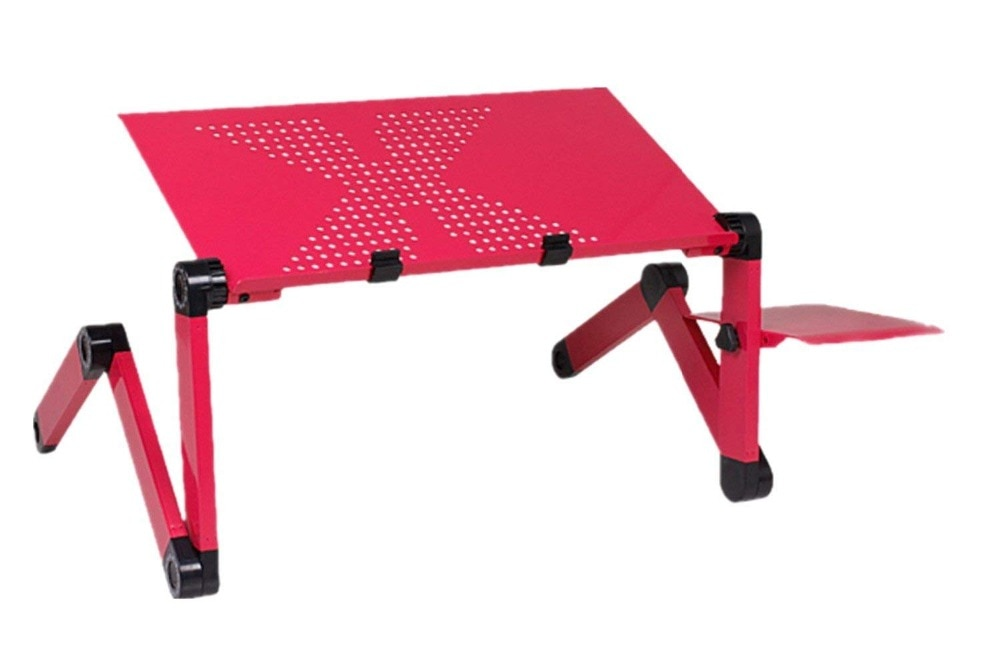 Adjustable Folding Laptop Table Stand With Ergonomic Design & a Mouse Pad + FREE Shipping Best Children's Lighting & Home Decor Online Store