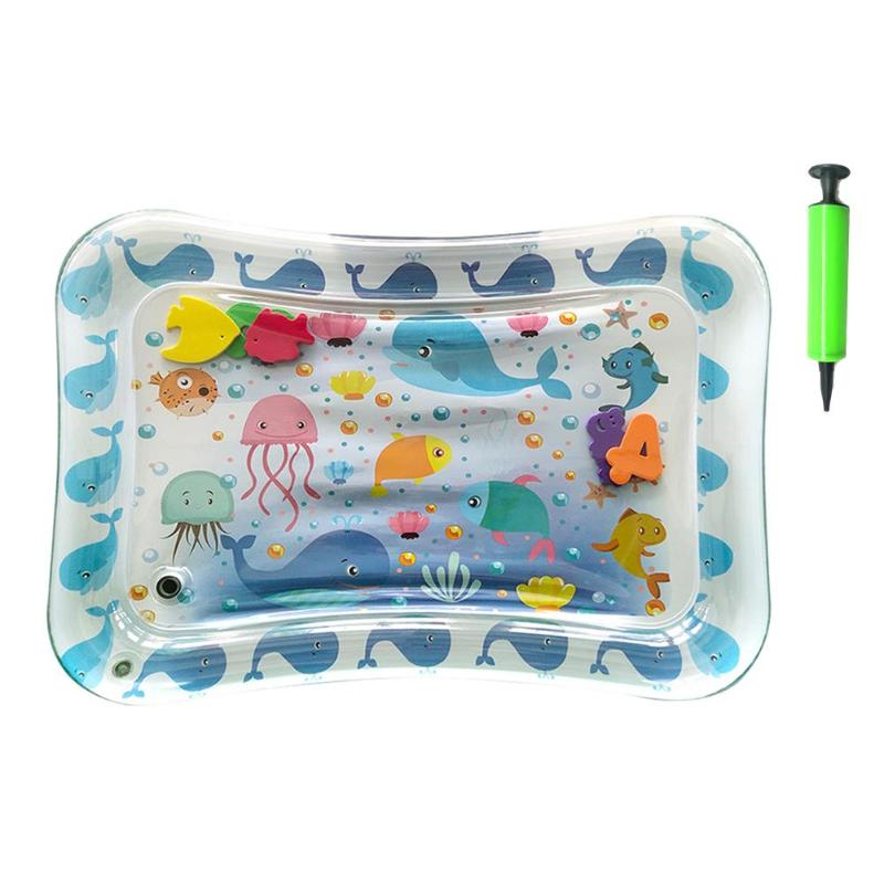 Water Play Mats For Infants -  Inflatable Infant Tummy Time Play mat Best Children's Lighting & Home Decor Online Store