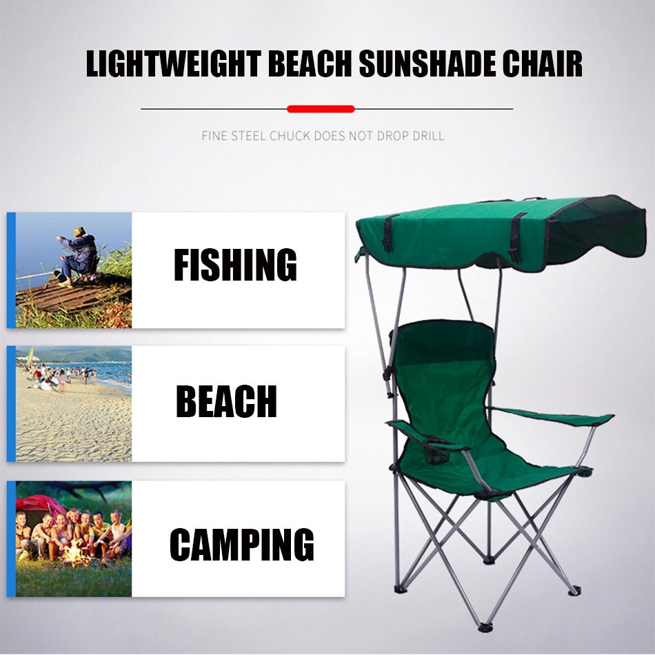 Folding Canopy Chair With Sunshade Best Children's Lighting & Home Decor Online Store