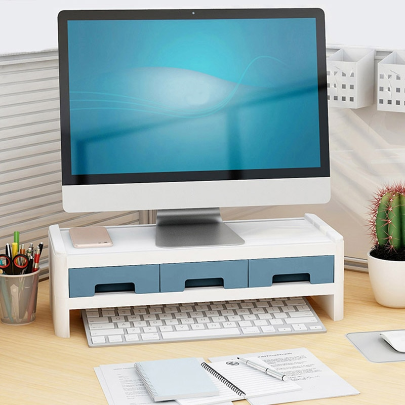 Creative Desktop Storage With Drawers For Stationery