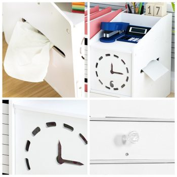 Home Office Desk Organizer With Drawer