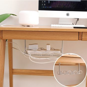 Under-table Extension Cord Holder