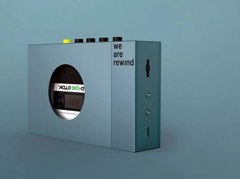 We Are Rewind's Cassette Player Hits All the Right Nostalgic Notes Best Children's Lighting & Home Decor Online Store