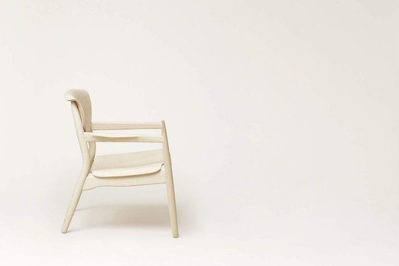 Origin Lounge Chair Side View