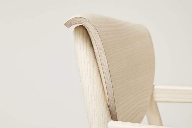 Origin Lounge Chair Close Up