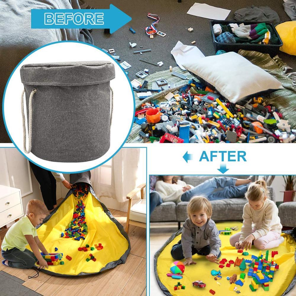 2 in 1 slide away basket for toy storage