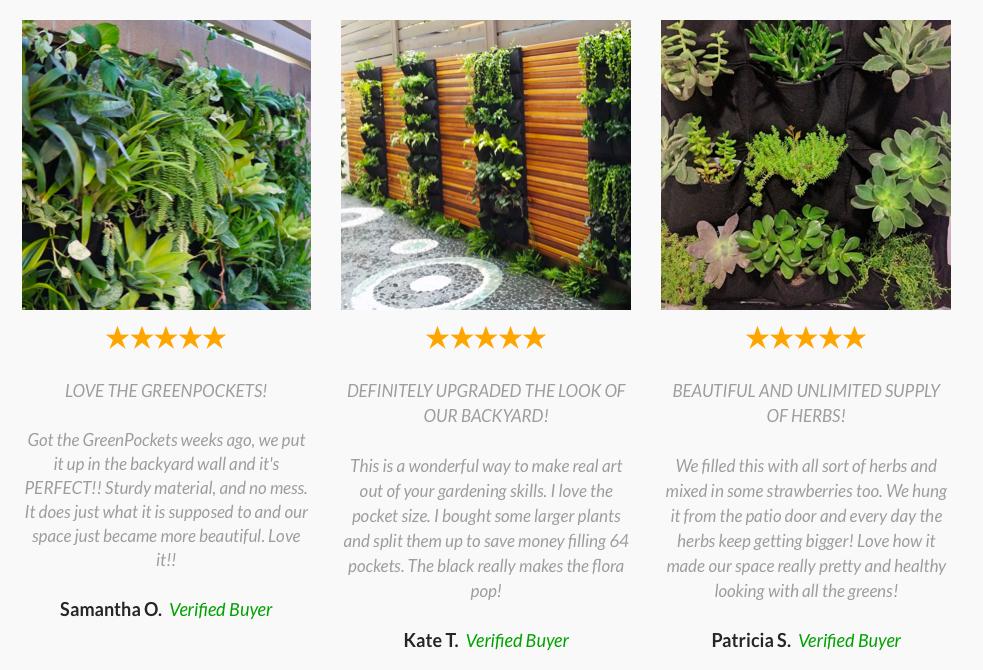 Home Garden Wall Panel