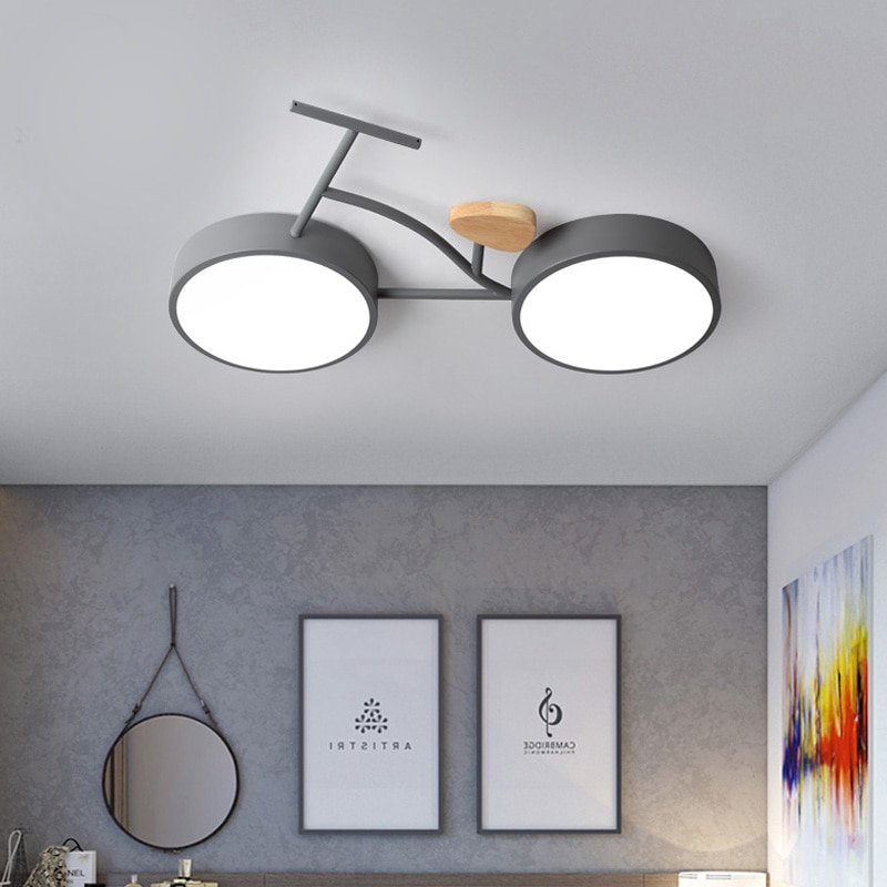 Nordic Bike Ceiling Light