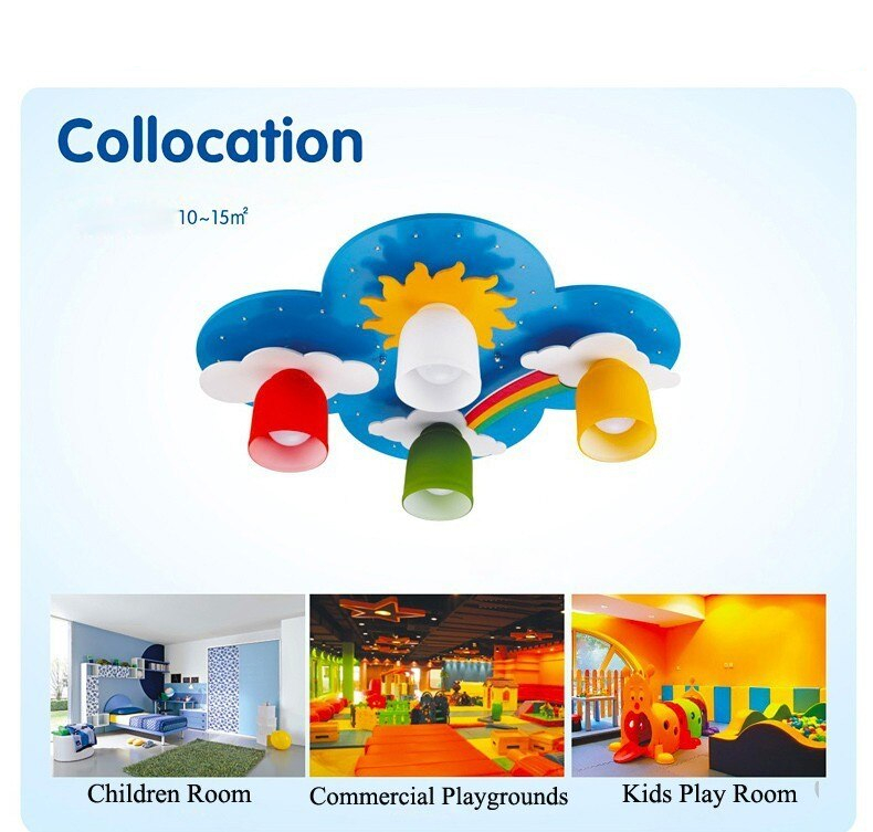 Colorful Rainbow Ceiling Light For Kids Room Best Children's Lighting & Home Decor Online Store