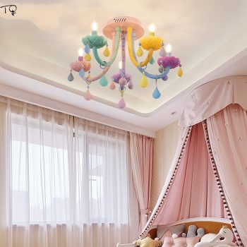 Macaron Color Crystal Chandelier For Princess Room | Kids Room Lighting & Home Decor Best Children's Lighting & Home Decor Online Store