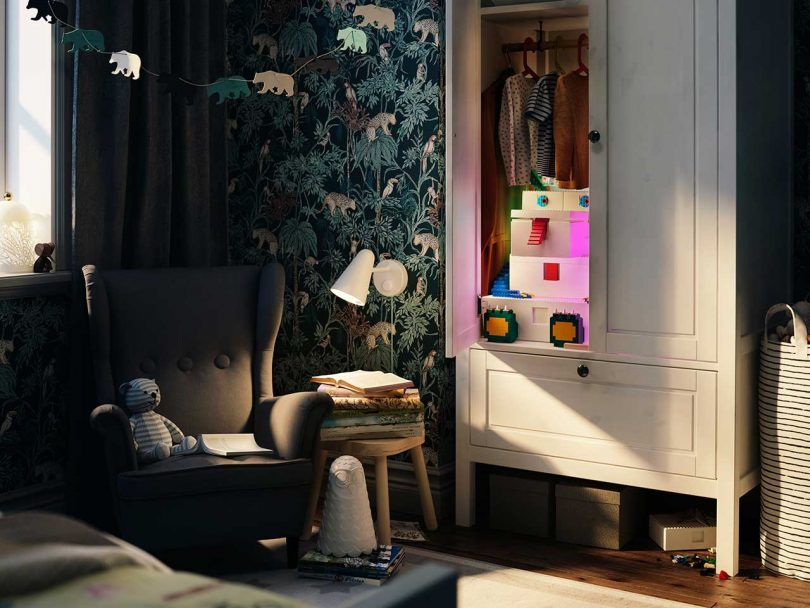 IKEA and LEGO Team up on BYGGLEK Storage Boxes You Can Also Play With Best Children's Lighting & Home Decor Online Store
