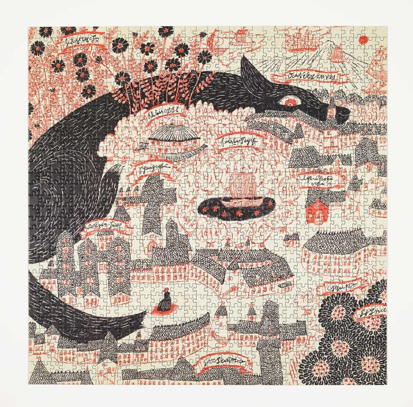 Four Point Puzzles Releases New Puzzle by Japanese Illustrator Sanae Sugimoto Best Children's Lighting & Home Decor Online Store