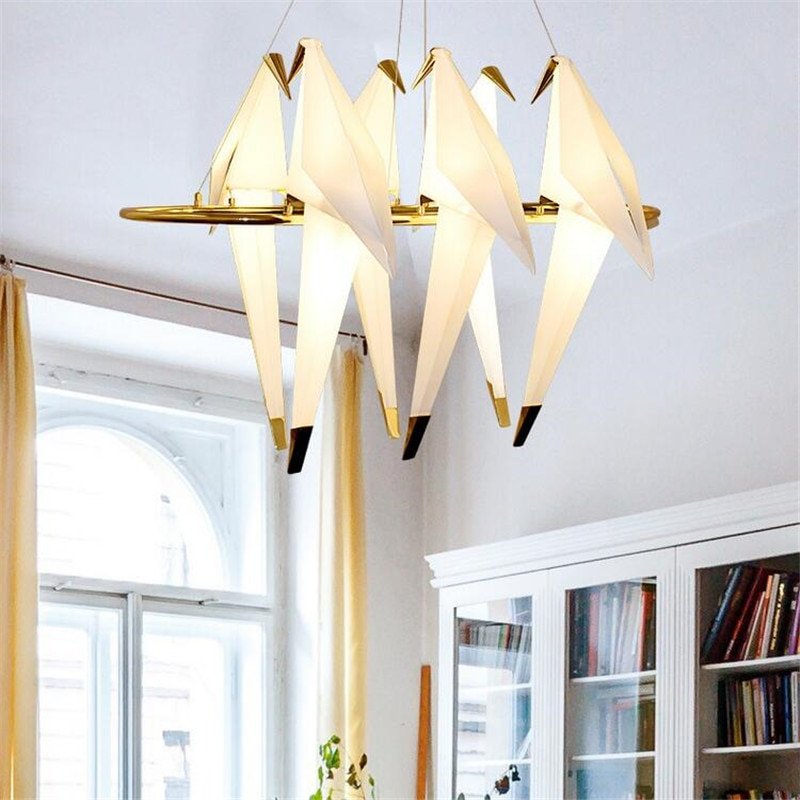 6 heads Bird ceiling lights for the dining room
