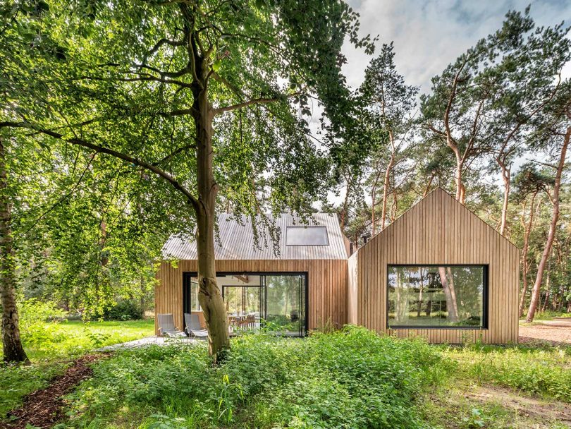 Villa Tonden Is a Holiday Retreat Made up of Three House-Shaped Volumes Best Children's Lighting & Home Decor Online Store
