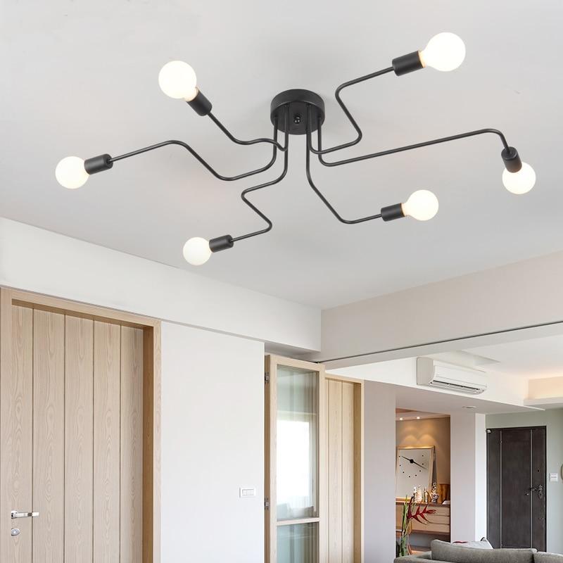 Ultra-Modern Led Chandelier -Vintage Led Ceiling Lamp For Kitchen, Living Room, Bedroom, Dining Room Lighting Fixtures