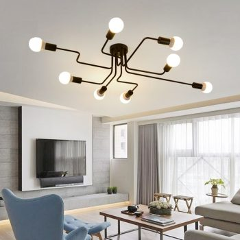 Ultra-modern LED Chandelier -Vintage Led Ceiling Lamp For Kitchen, Living Room, Bedroom, Dining Room Lighting Fixtures