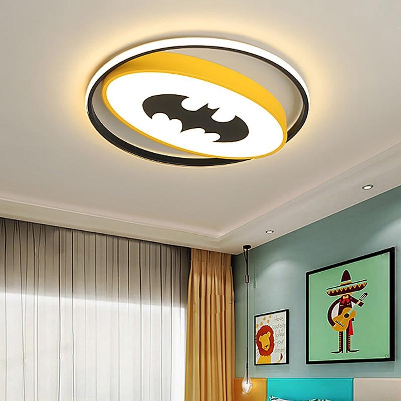 Super Heroes LED Ceiling Lights For Kids Bedroom
