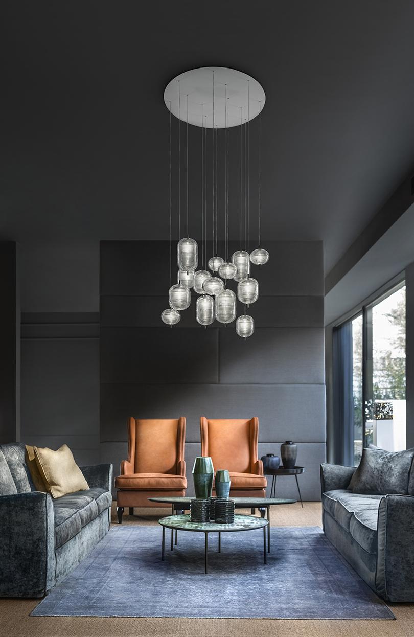 pendant lighting living room