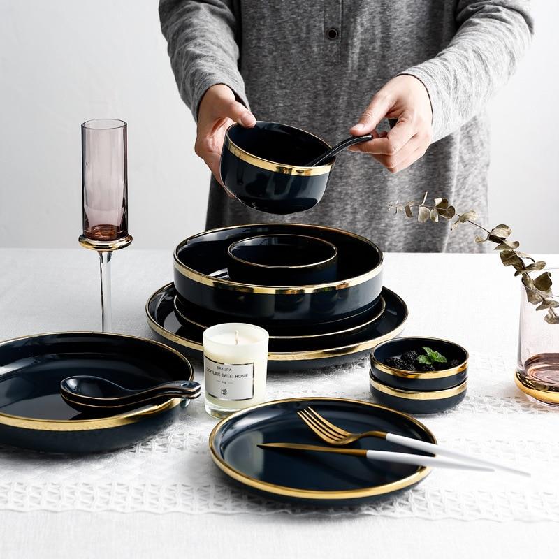 Pink Gold Ceramic Plates Best Children's Lighting & Home Decor Online Store