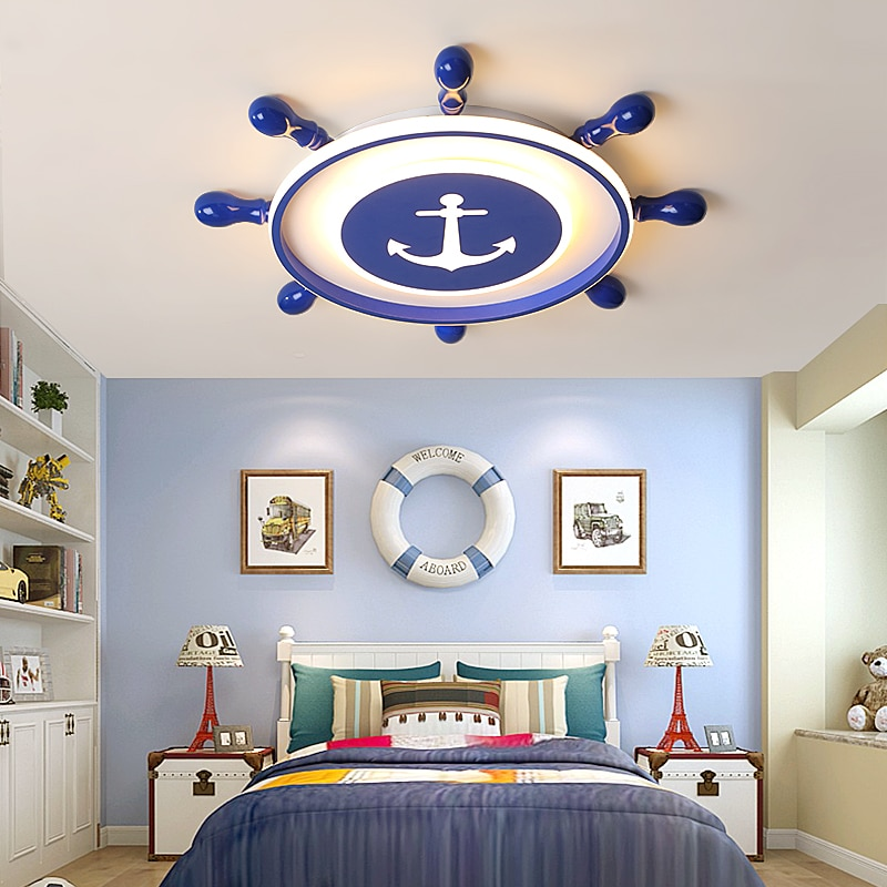Pirate LED Ceiling Lights For Children's Room
