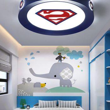 Super Hero Ceiling Lights For Boy's Room Best Children's Lighting & Home Decor Online Store