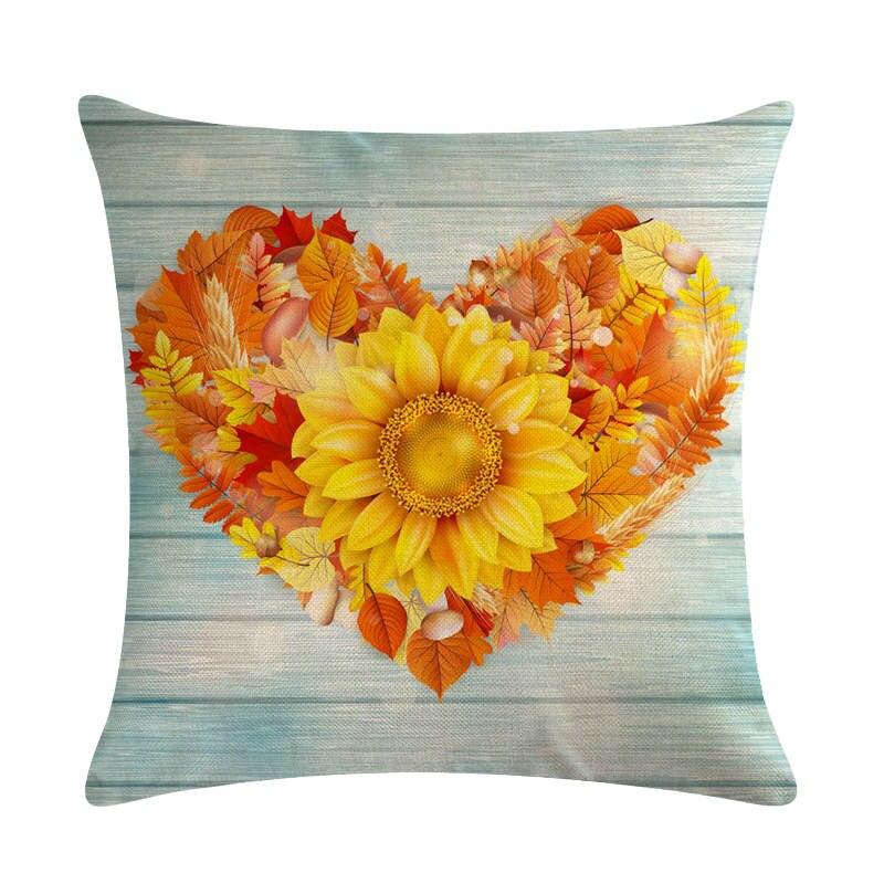 45cmx45cm Golden maple leaves cushion covers - Fall Home decor 2020 Best Children's Lighting & Home Decor Online Store