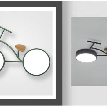 Nordic Bike Ceiling Light - 24W LED Light For Kids Bedroom Best Children's Lighting & Home Decor Online Store