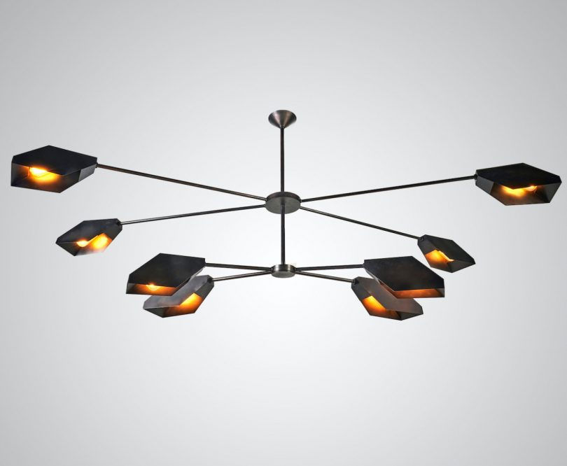 A Low Profile Fixture with Geometric Reflectors for Precise Lighting - Modern Chandeliers Best Children's Lighting & Home Decor Online Store