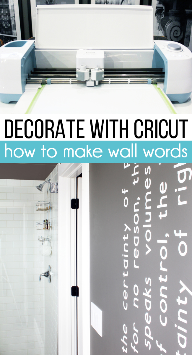 How to Create Wall Words Using Cricut Best Children's Lighting & Home Decor Online Store
