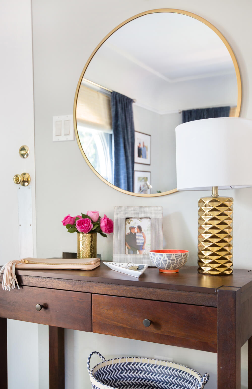 Emily Henderson_Target_Makeover_Nanny Suprise_Happy_Modern_Traditional_Eclectic_Makeover_Blue_Pink_Living Room_14