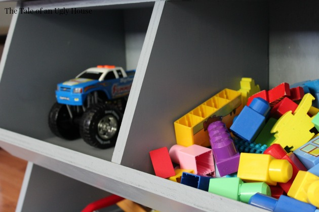 How to Build a Cubby Storage Toy Organizer