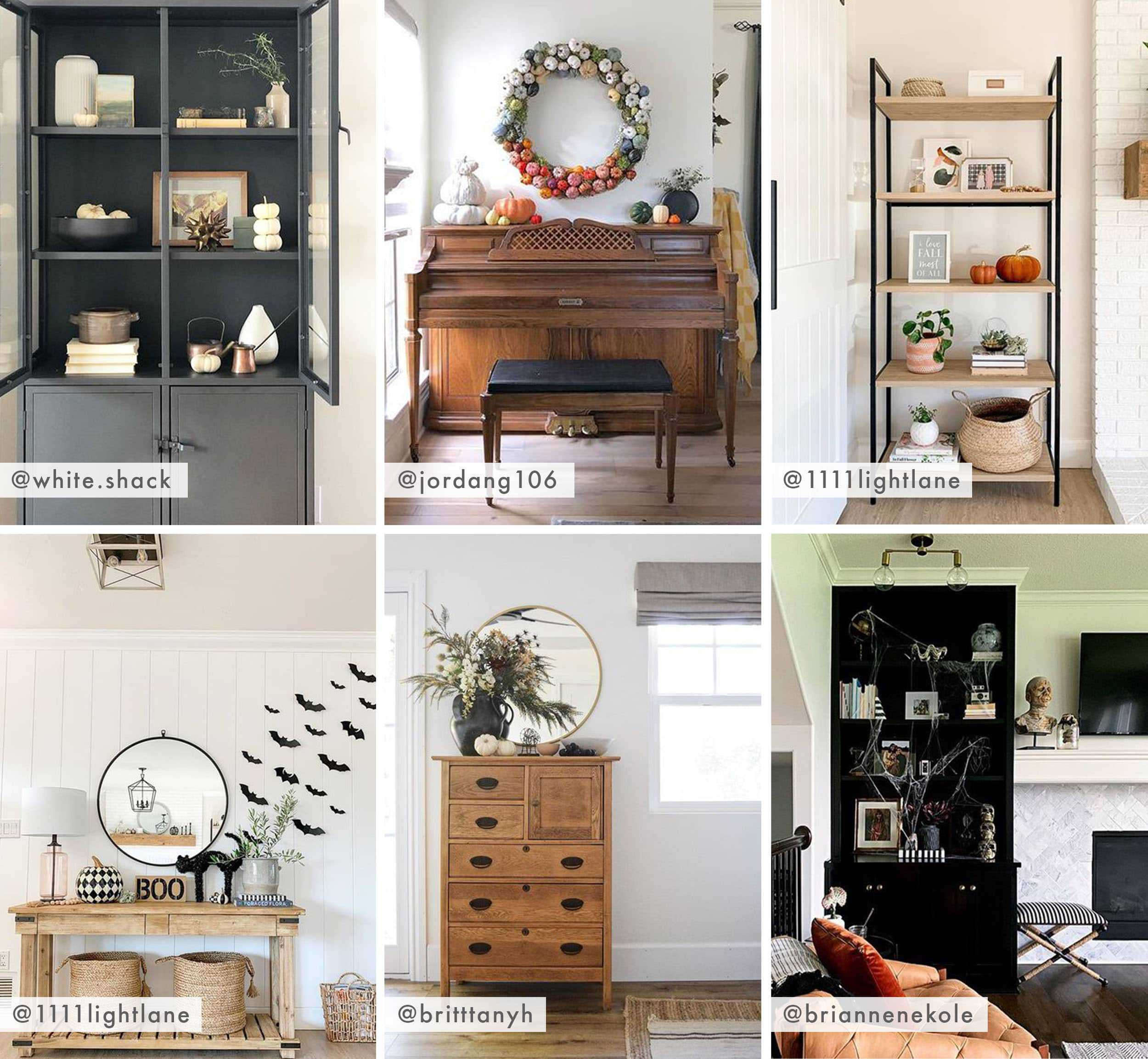 Emily Henderson Showemyourfall Bookshelves And Accents
