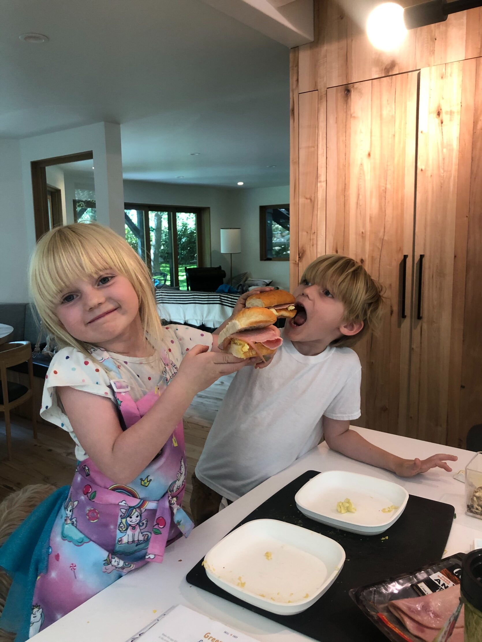 Cooking School with the kids ... and a surprising parenting hack discovered Best Children's Lighting & Home Decor Online Store