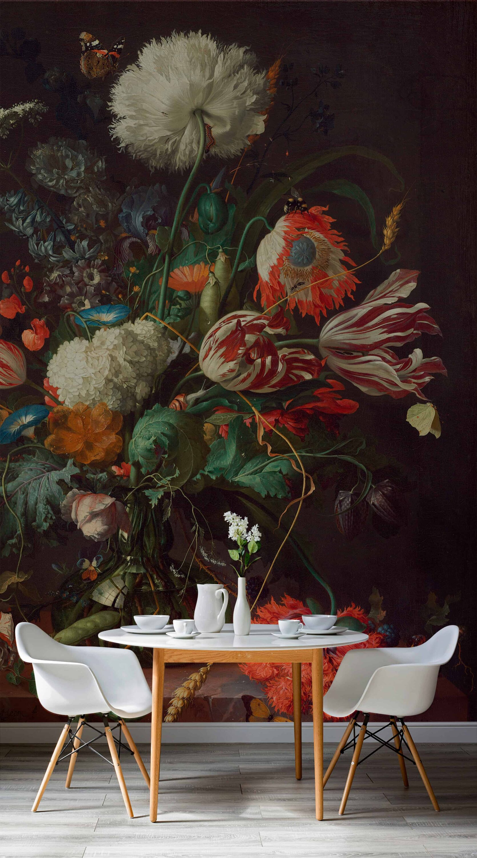 """Bold Floral Wallpaper Is Back BIG TIME... But With A Very """"2020"""" Makeover Best Children's Lighting & Home Decor Online Store"""