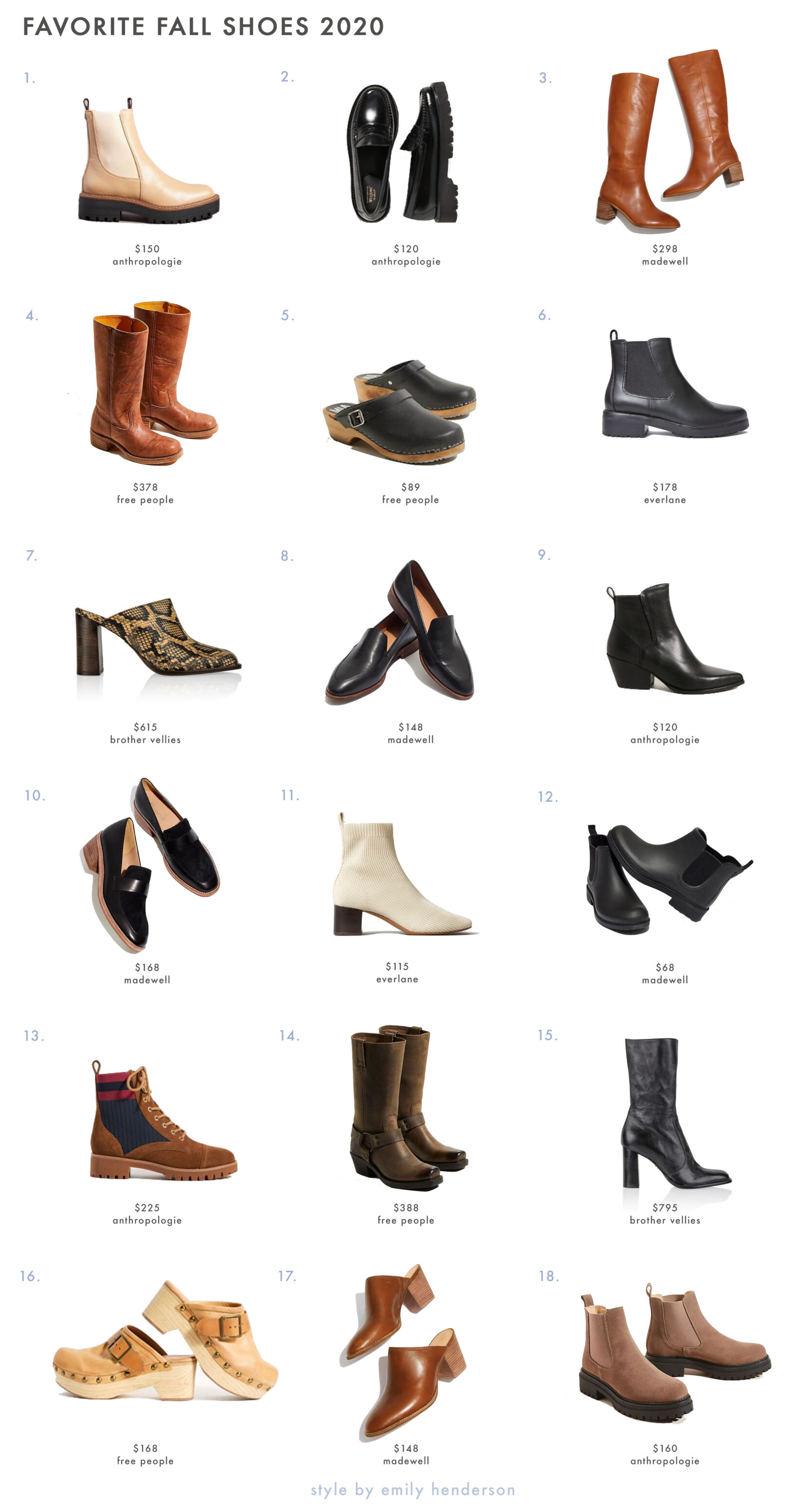 My Ultimate List of Tried And True Fall Shoes (That I Wear Season After Season) Best Children's Lighting & Home Decor Online Store