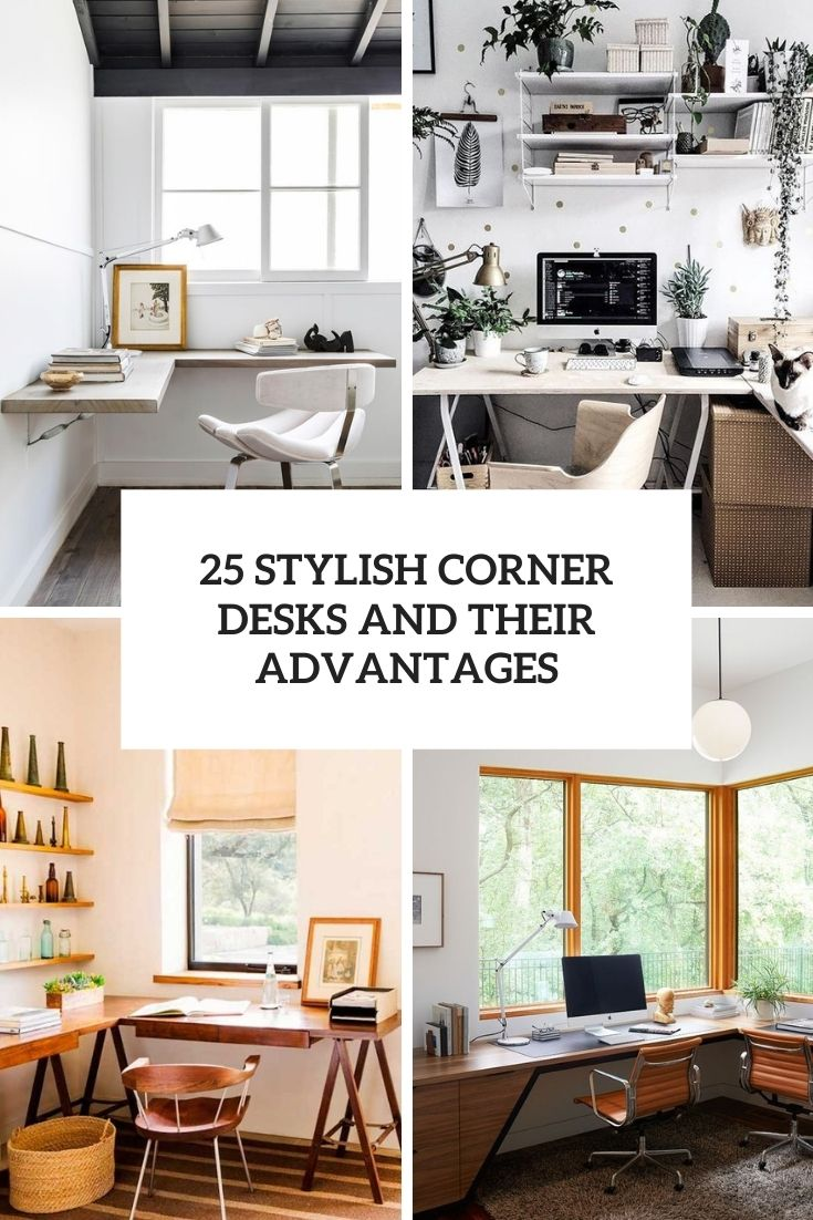 stylish corner desks and their advantages cover
