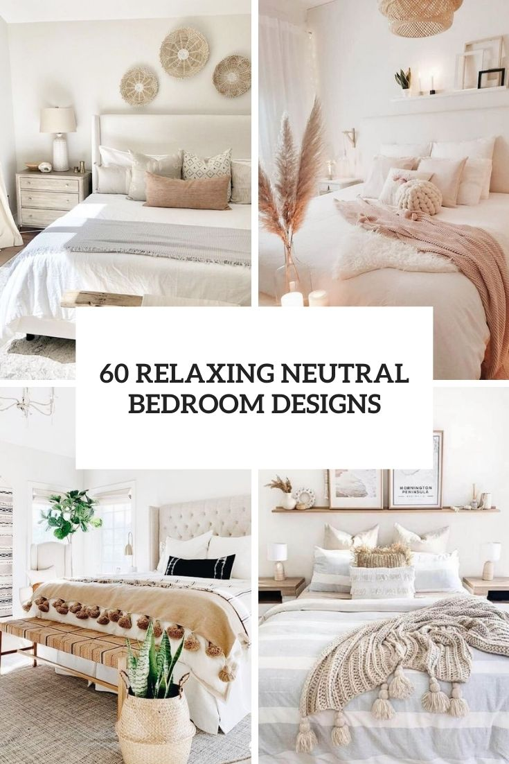 relaxing neutral bedroom designs cover