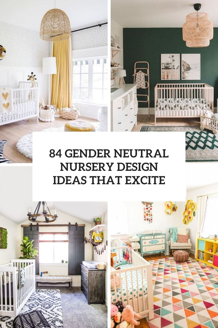 34 gender neutral nursery design ideas cover