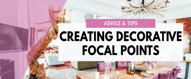 how to create a decorative focal point