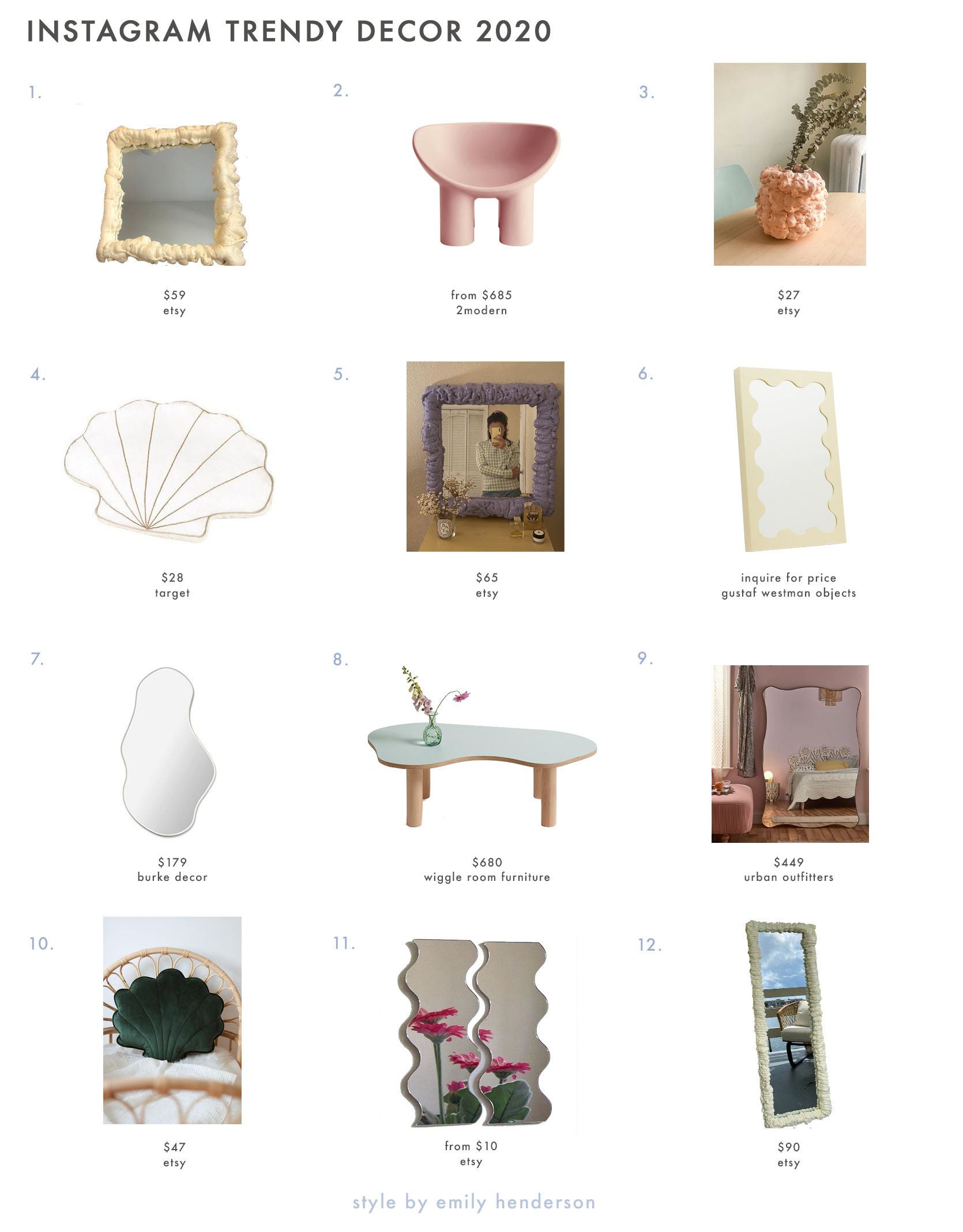 Instagram Made Me Like These Trendy Furniture Items...But Are They Actually Cool? Best Children's Lighting & Home Decor Online Store