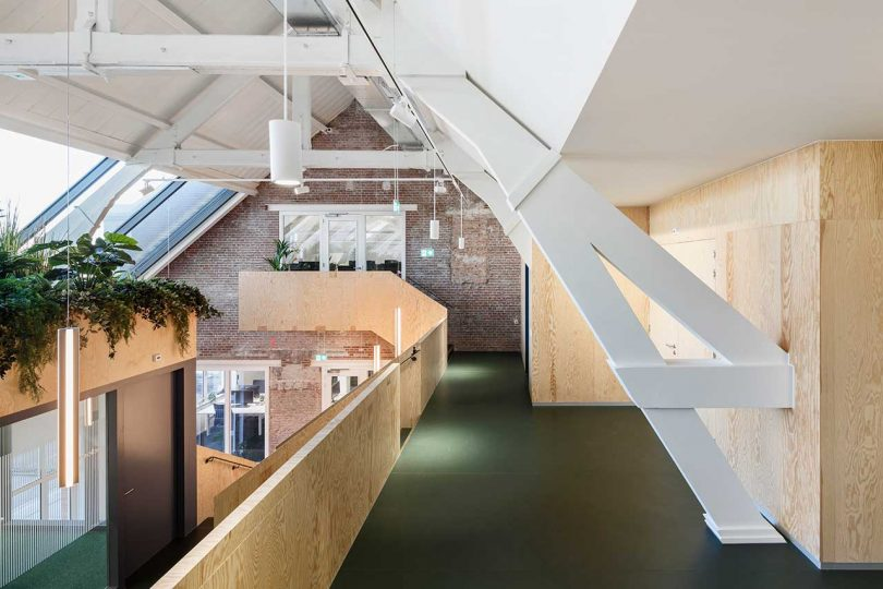 JDWA Transforms an Empty Attic Into a Contemporary Workspace for Upfield Best Children's Lighting & Home Decor Online Store