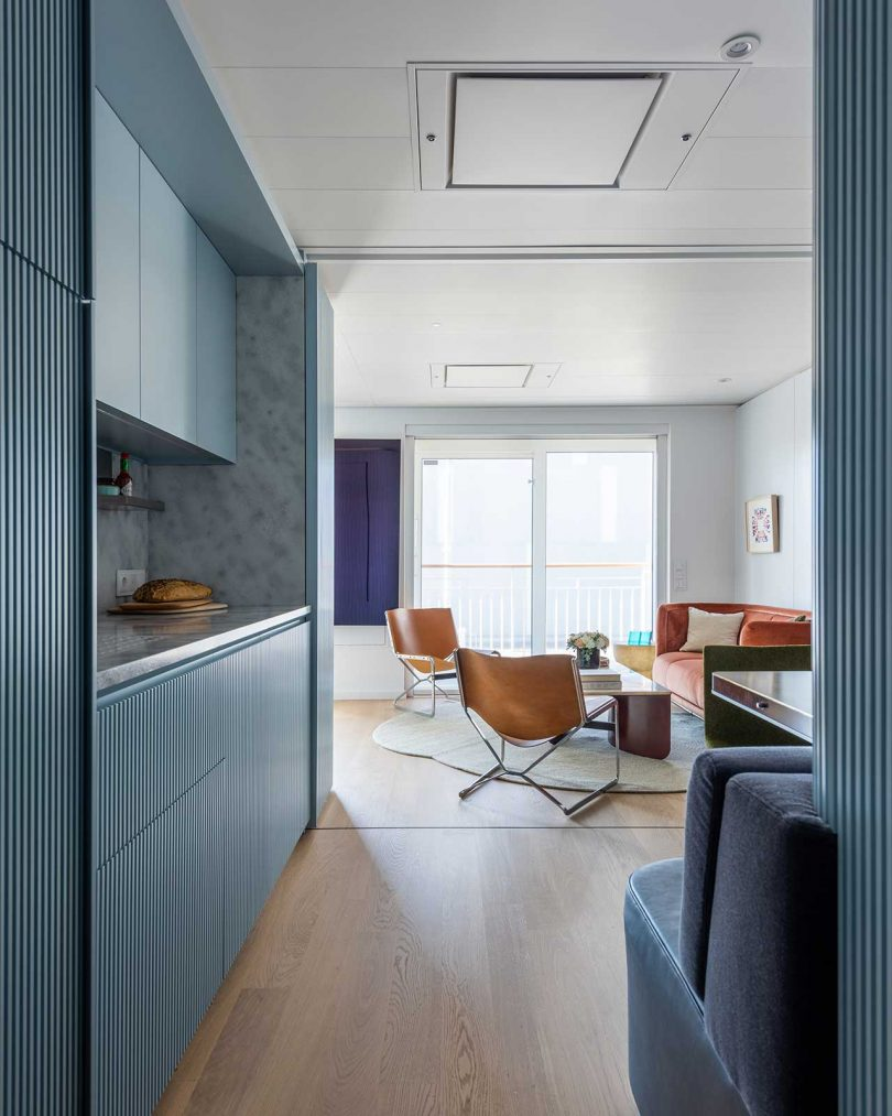An Apartment on a Residential Yacht That Transforms From One Bedroom To Two Best Children's Lighting & Home Decor Online Store