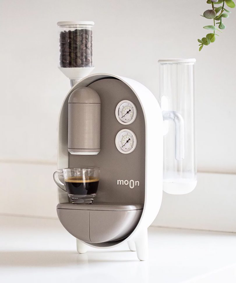 The Moon Coffee Maker Drips With Caffeine and Cuteness Best Children's Lighting & Home Decor Online Store