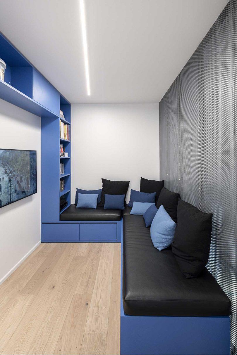 A Renovated Duplex in Paris With Two Rooms Hidden Behind Bookshelves Best Children's Lighting & Home Decor Online Store