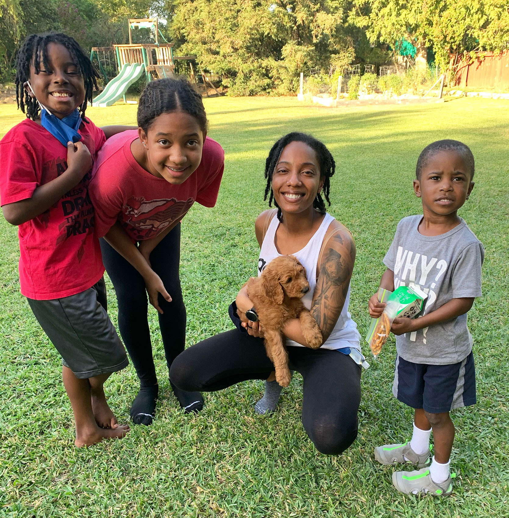 Our Next Feel Good Makeover With Designer/Blogger Shavonda Gardner And Her 4 Awesome Nieces And Nephews
