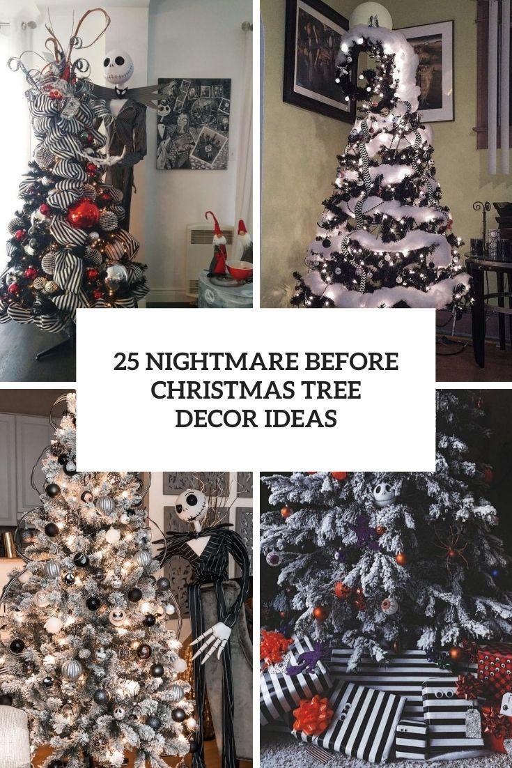 Nightmare Before Christmas Tree Decor Ideas Cover