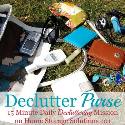 How To Declutter Your Purse
