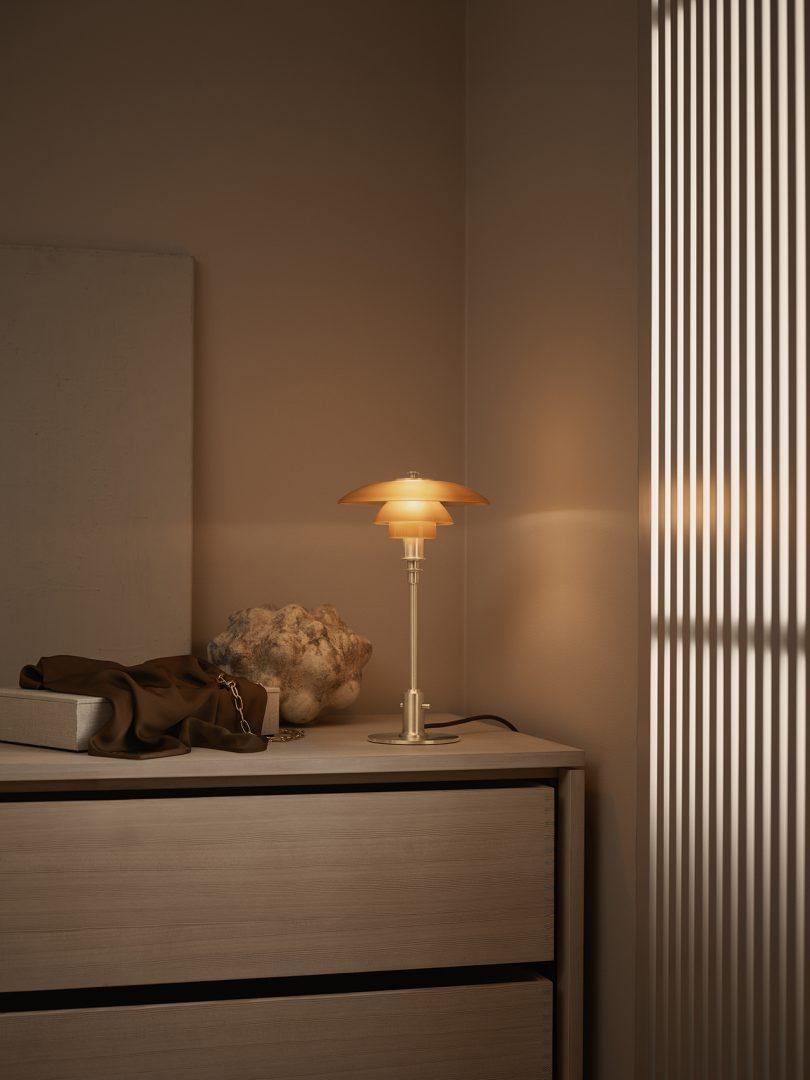 Table Lamp On Dresser